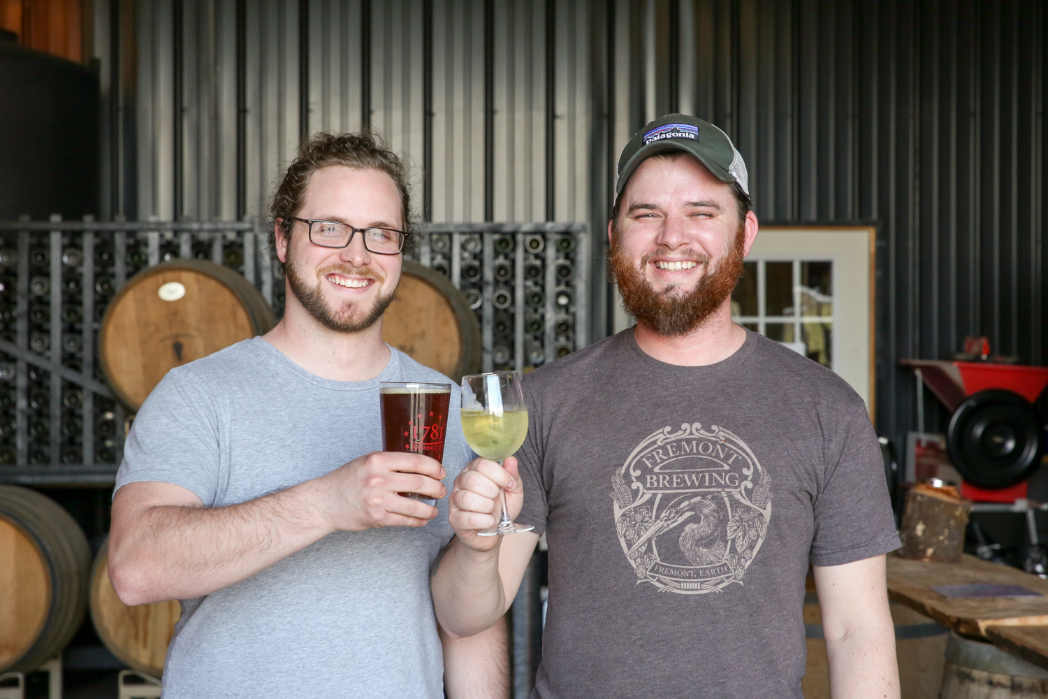 Wilderness Run Vineyards is owned by two Fredericksburg locals, Harry Pagen and Brandon Pallen -- So you would truly be supporting a local business (Image: Amanda Andrade-Rhoades/DC Refined)<p></p>