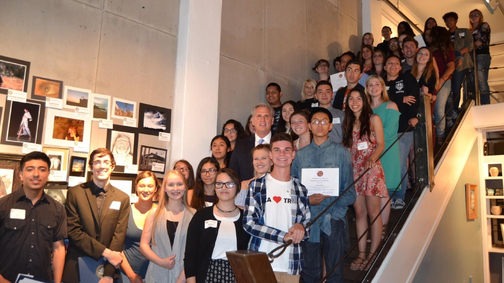 Congressman mccarthy announces winners in art competition for Metro motors bakersfield ca