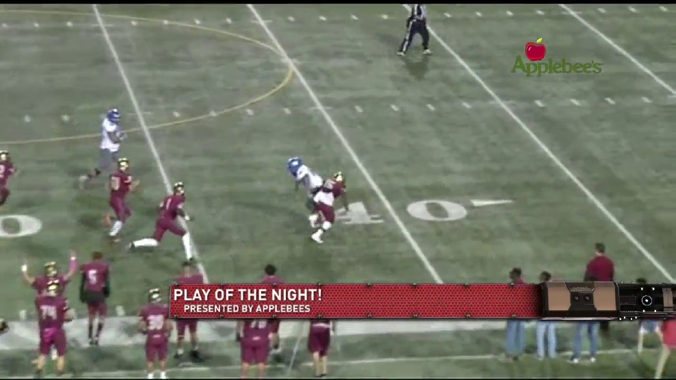Play of the night: Jorge Hernandez touchdown against Americas
