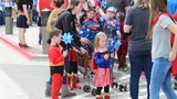 Photos: Superhero/child abuse awareness march in Caldwell