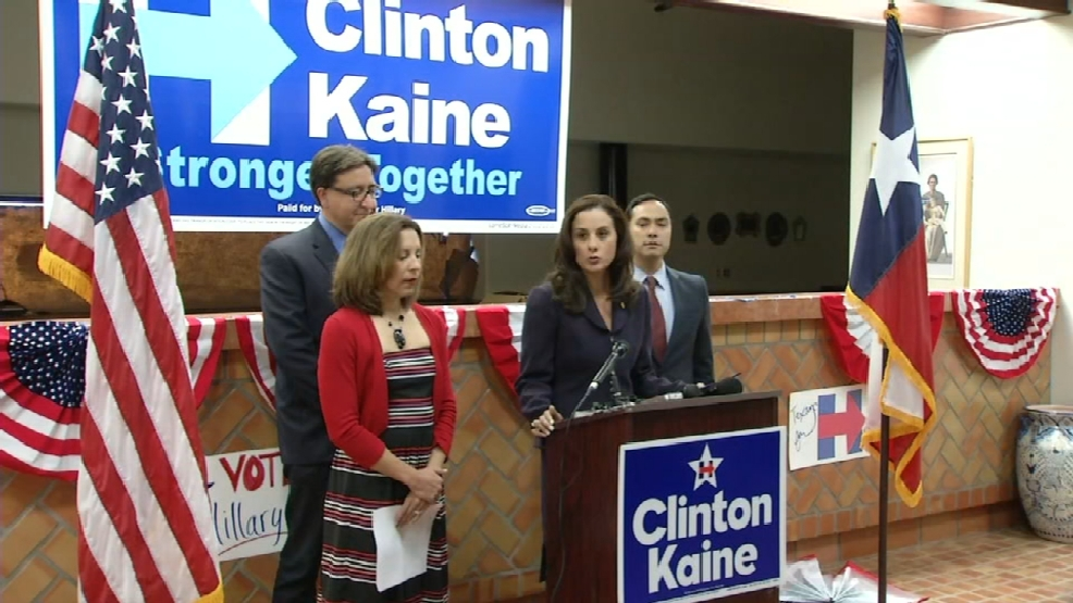 Local democratic leaders hold news conference prior to