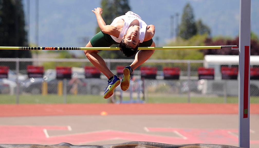SWC Track and Field Championships Day 2.  Andy Atkinson / Mail Tribune