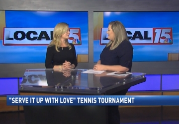 'Serve It Up with Love' tennis tourney coming up