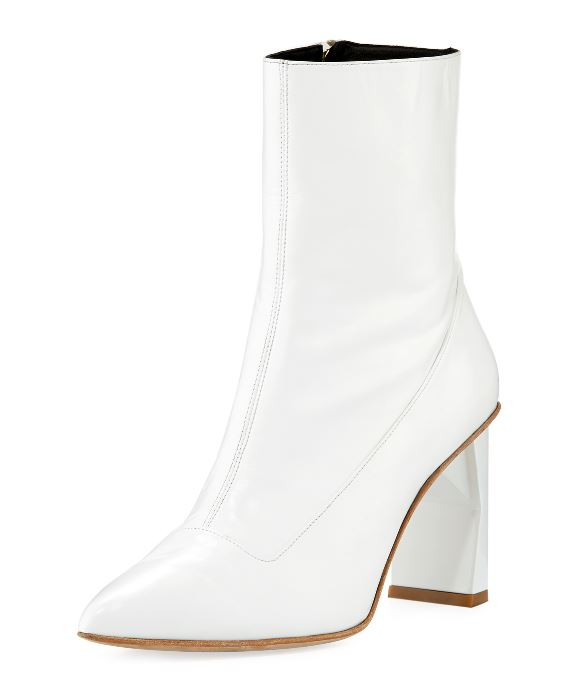 <p>Tibi, Alexis Stitched Leather Bootie, $292, can be purchased at Neimanmarcus.com{&amp;nbsp;}(Image: Courtesy Neiman Marcus)</p>