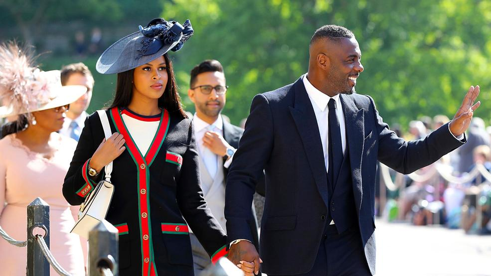 Idris Elba And Sabrina Dhowre Arrive For The Wedding Ceremony Of Prince Harry Meghan Markle At St George S Chapel In Windsor Castle