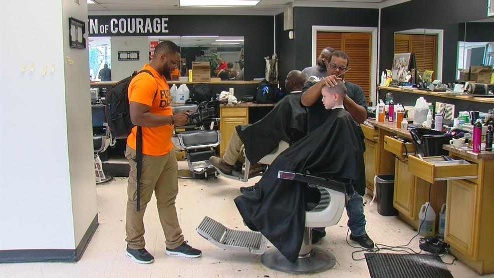 """Ford's """"Men of Courage"""" barbershop challenge launches in Cincinnati"""