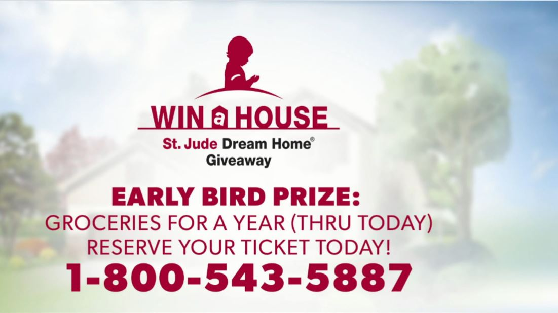 Get your ticket by Friday, September 15th and you will automatically be entered to win free groceries for a year, valued at $5,000!