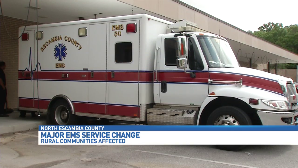 escambia county florida ems to expand coverage drop atmore ambulance contract wear. Black Bedroom Furniture Sets. Home Design Ideas