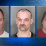 3 charged after meth busts at 2 homes in Oswego County