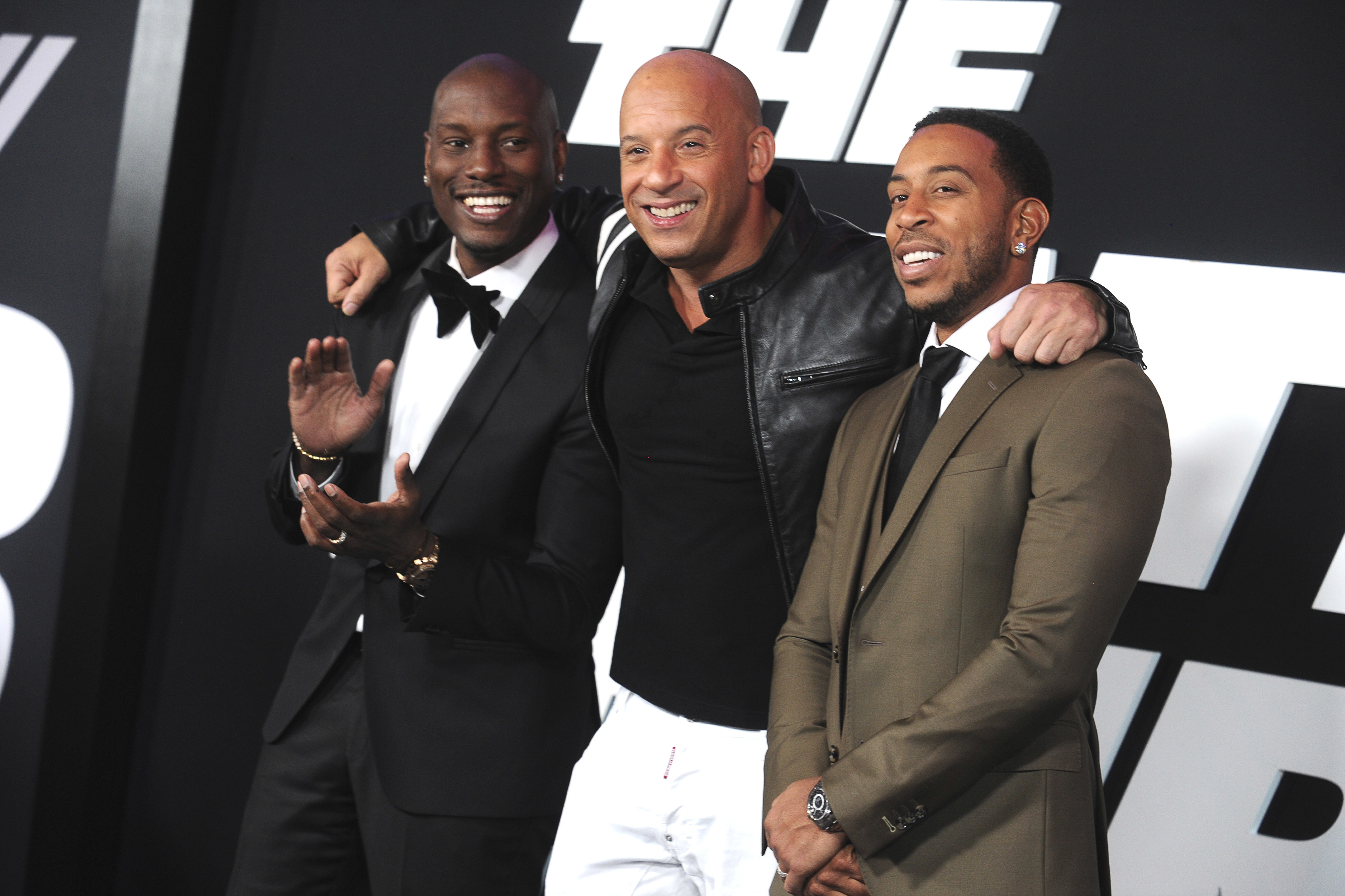 Pics photos tyrese gibson picture 8 - Tyrese Gibson Vin Diesel And Ludacris Attending The New York Premiere Of Fast Amp