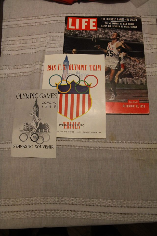 Magazines from various Olympic games. 7/22/2016 (Larry | KSNV)