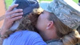 VIDEO: Military mom comes home to surprise son at RiverDogs game