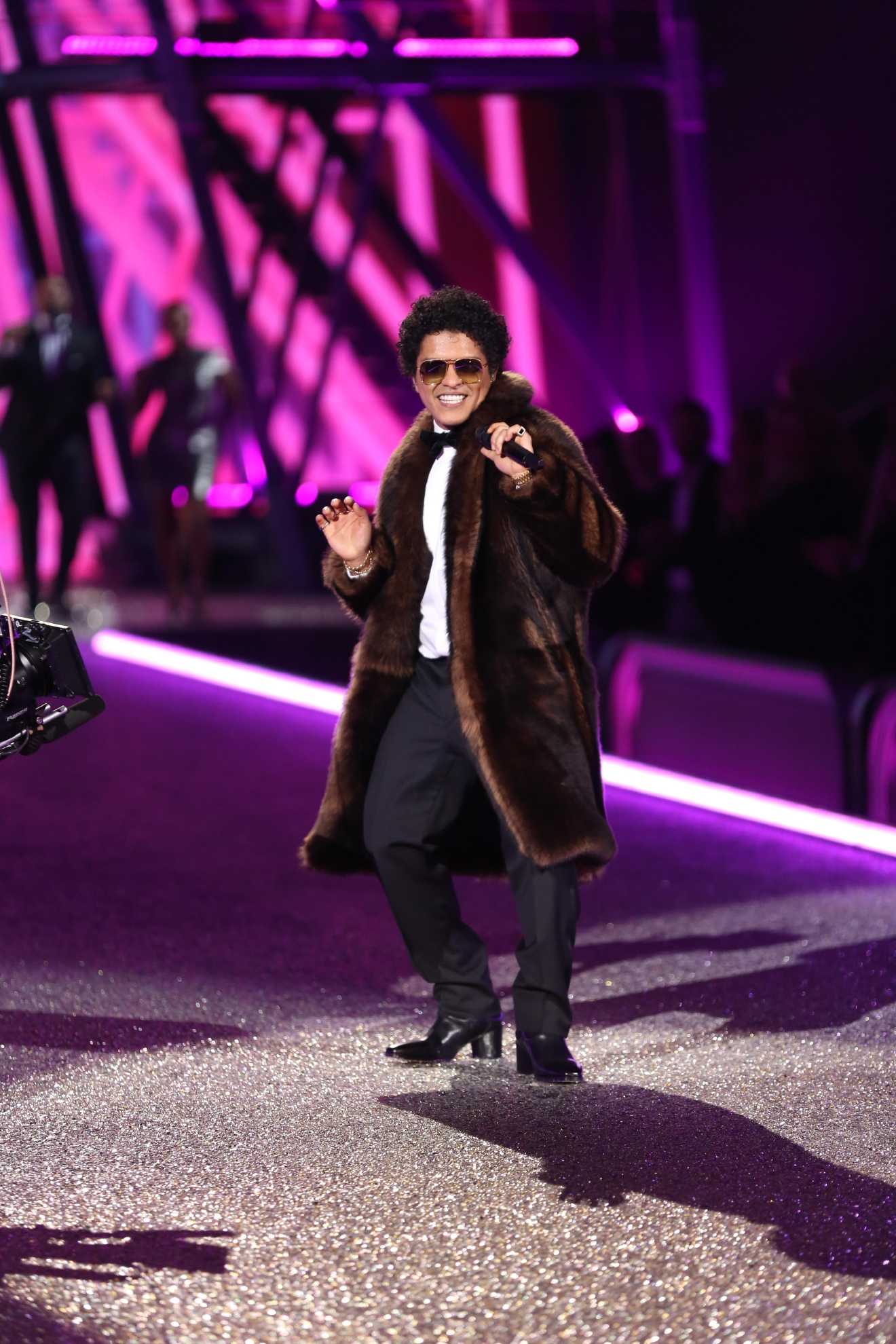 "Bruno Mars is bringing his bring the ""24K Magic World Tour"" to the Verizon Center on September 29. Due to popular demand, he added a second show on September 30. (Image: Andres Otero/WENN.com)"