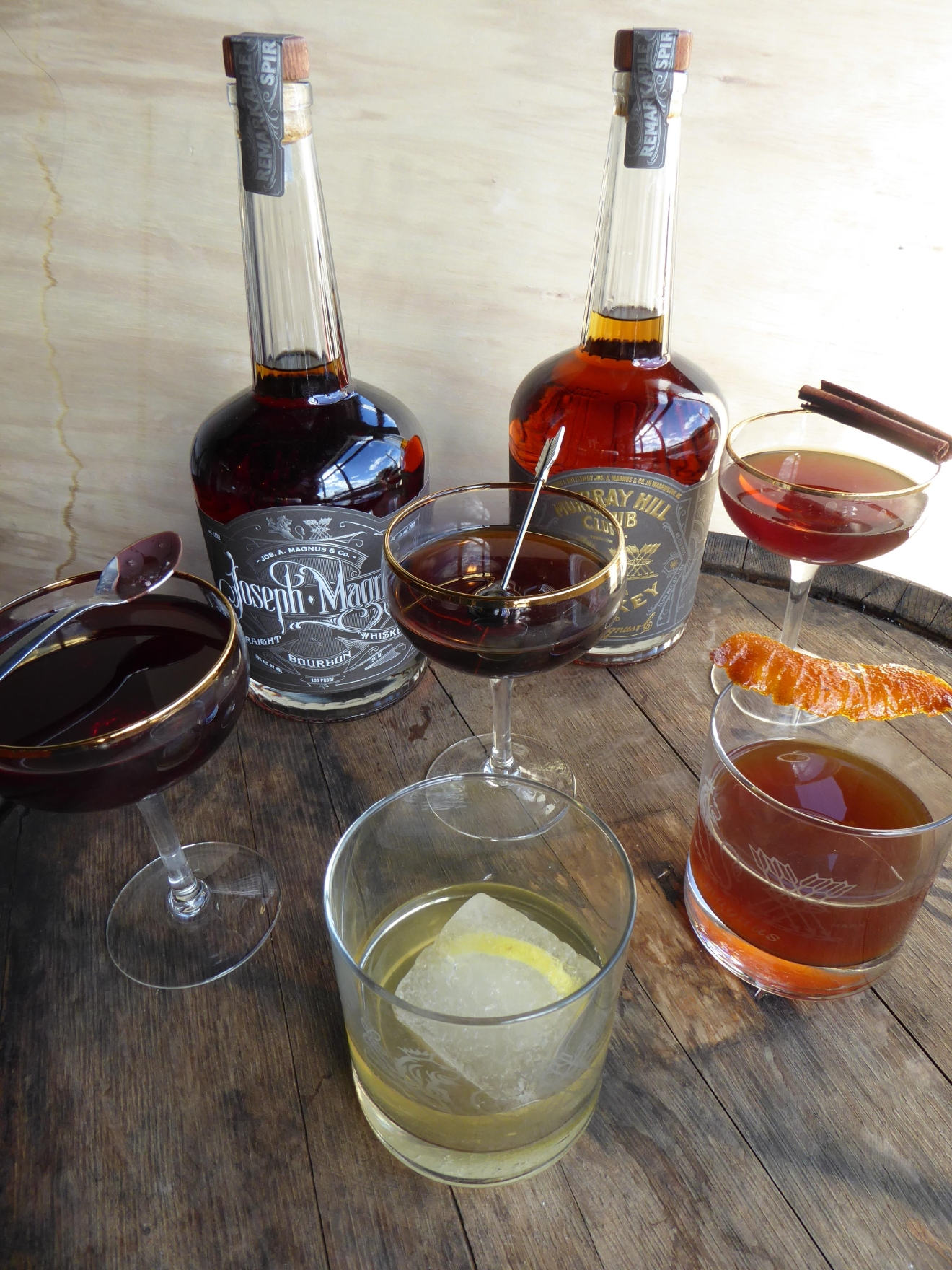 In just six years, we've got five whiskey makers, one rum distillery (with another one on the way), a cidery and more liqueurs than a city of our size should rightly demand. We realized an enterprising home bartender could mix up all kinds of classic cocktails using nothing but District-bred booze. (Image: Doug Van Sant)<p></p>