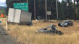 One killed, 3 injured in multi-car crash involving semi-truck on I-90 near Cle Elum