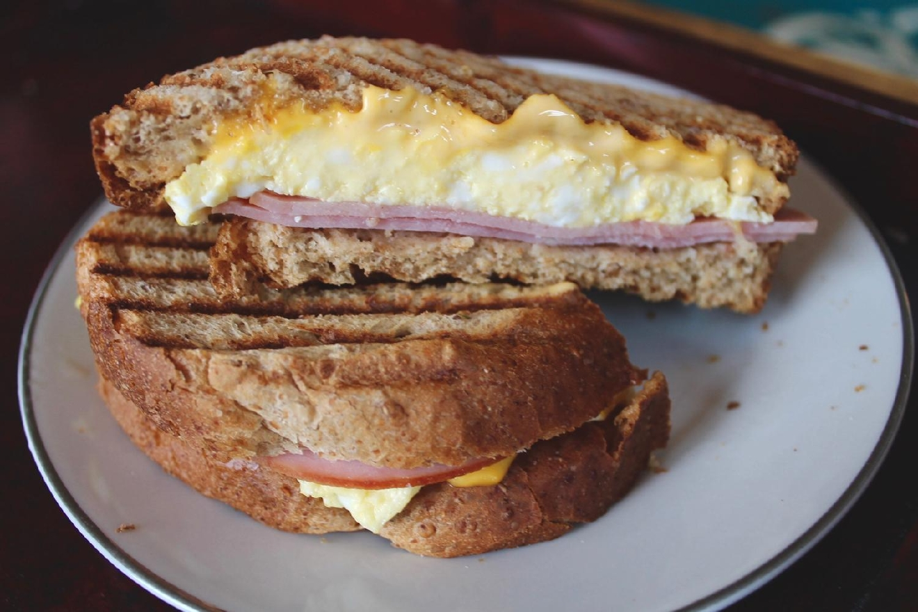 The Doctor: egg, ham and cheddar on wheat / Image: Rose Brewington