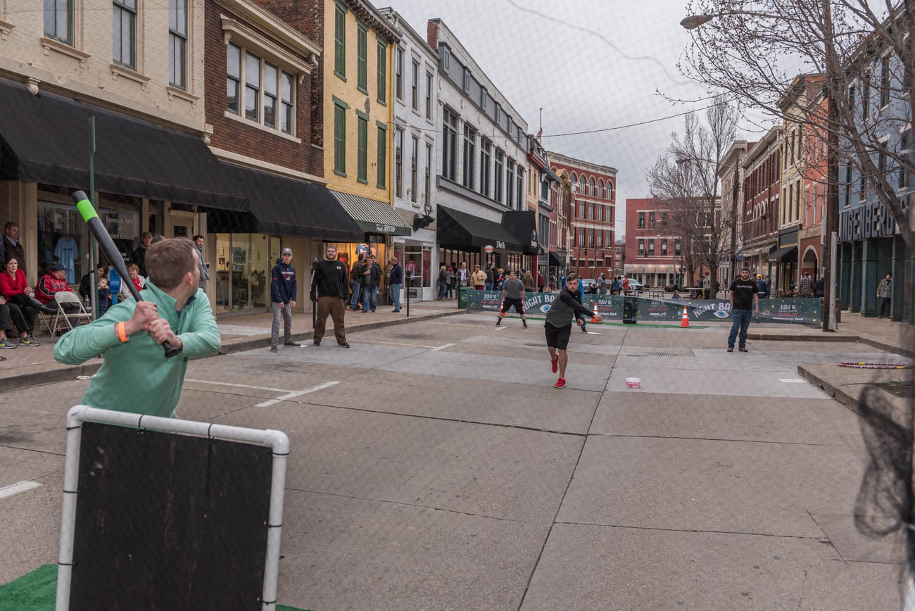 <p>BLDG Gallery's fifth annual 199C was held on Saturday, March 31, 2018. 199C is a collaborative art event and community block party celebrating two great loves: Art and the Cincinnati Reds. / Image: Mike Menke // Published: 4.1.18</p><p></p>