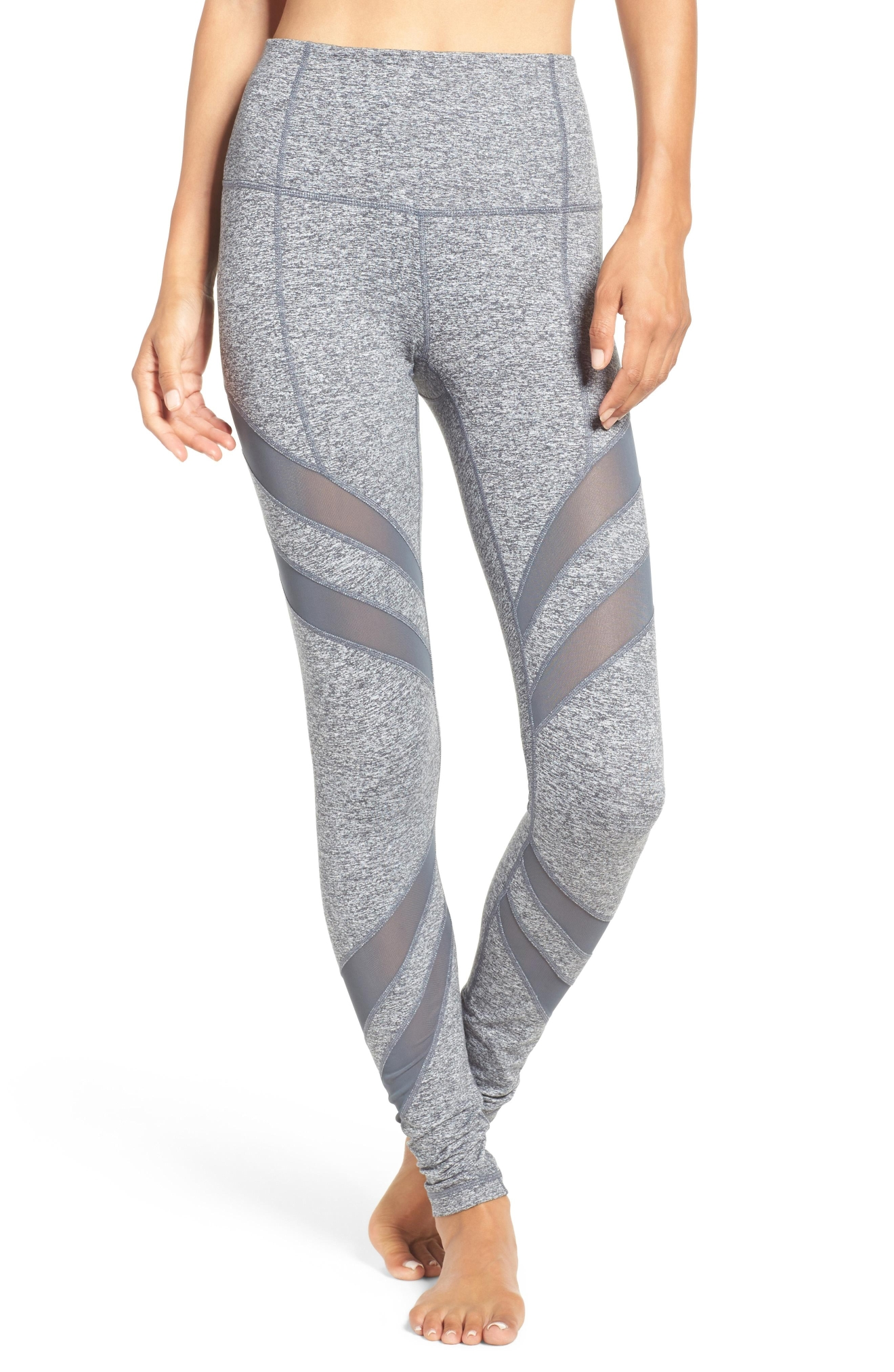 Zella 'Splice it Up' High Waist Leggings, $64. Available at select Nordstrom stores and nordstrom.com (Photo: Nordstrom)