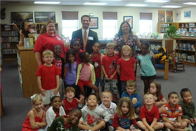 8/30/10...Ms. McCurry`s Kindergarten class at Bethel-Hanberry Elementary