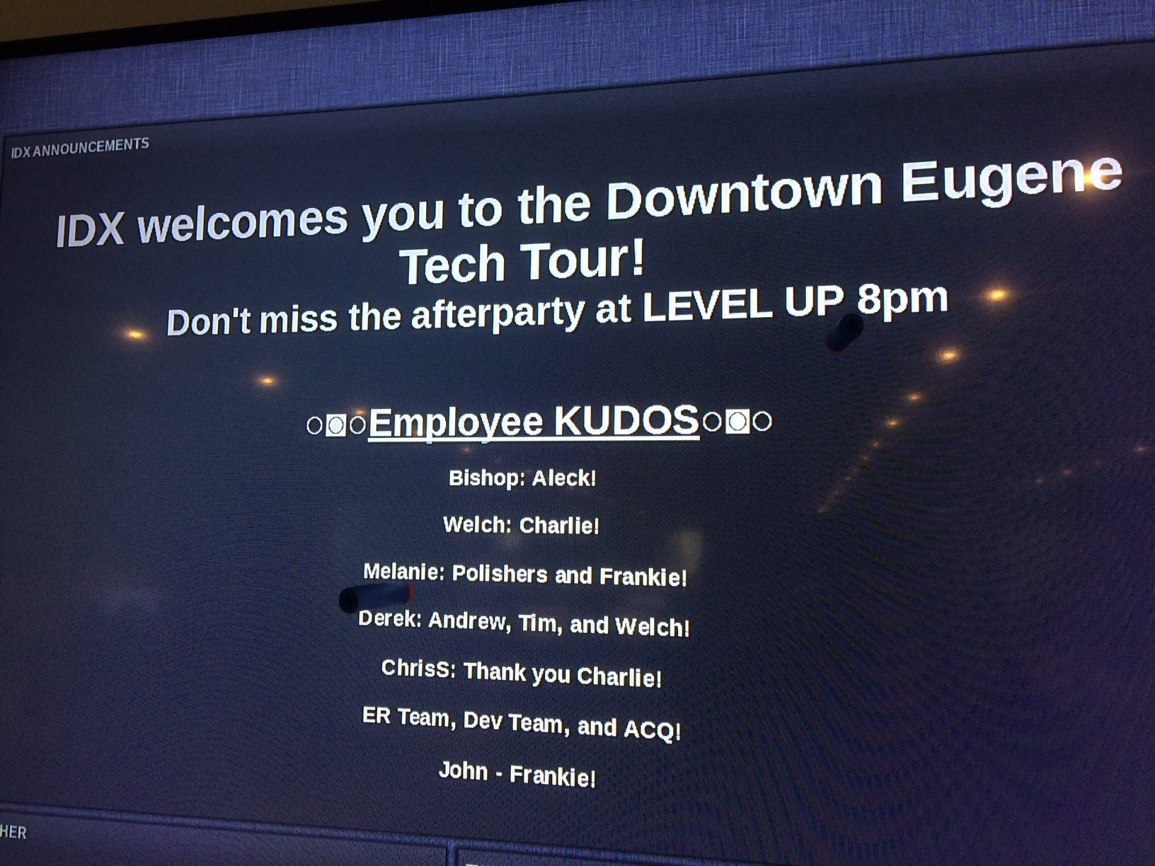 The Downtown Eugene Tech Tour kicks off at 5 p.m. in Broadway Plaza downtown September 21. From 5:30 p.m. to 8 p.m., registered participants can tour dozens of local tech companies in Eugene. (SBG)