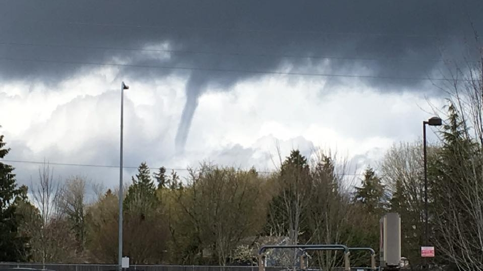 Funnel cloud spotted over Mill Creek