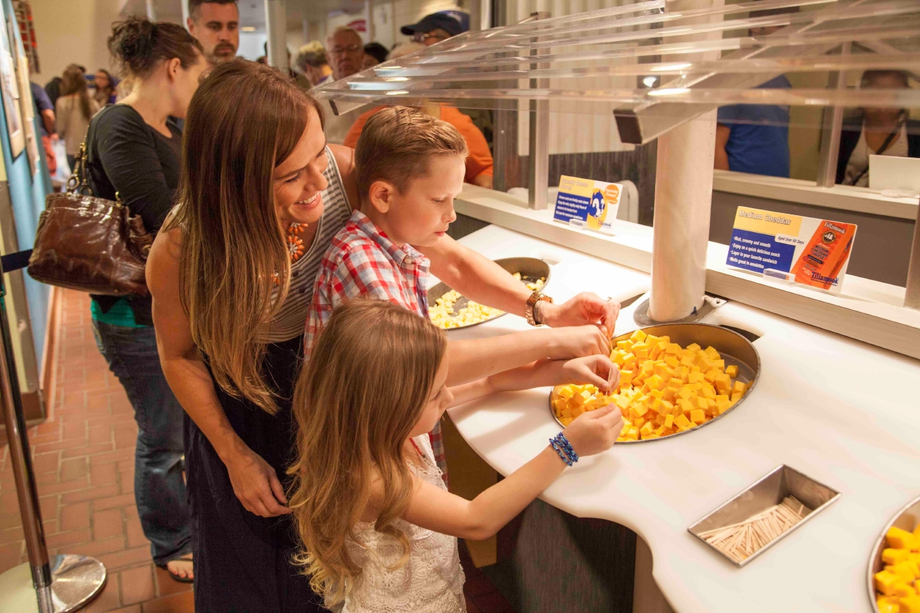 Learn how cheese is made and sample delicious Tillamook cheddar. Don't forget to stop by the creamy for ice cream!