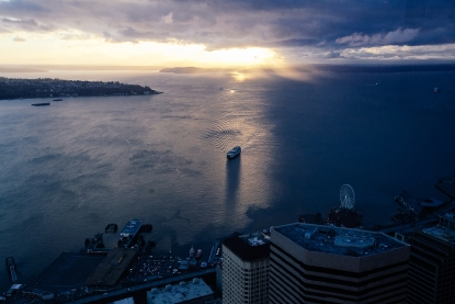 Photos: The Sky View Observatory at Columbia Tower | Seattle