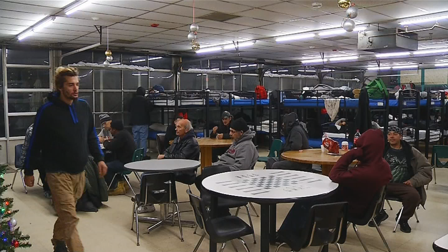 Emmanuel Shelter in Providence is helping 60 men stay out of the cold by providing them with a warm place to stay. (WJAR photo)<p></p>