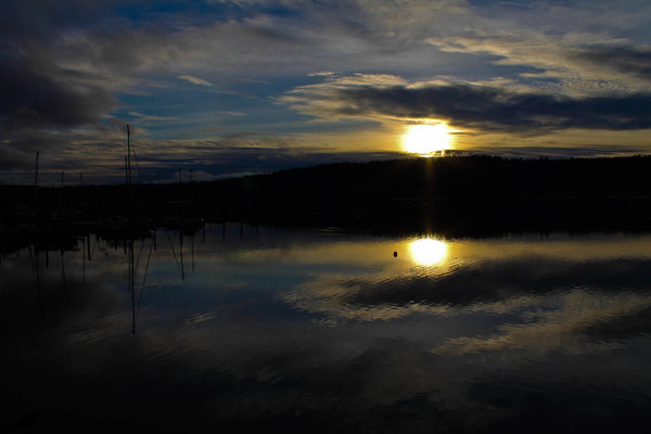 Poulsbo Sunset (Photo: YouNews contributor: snowman5678)