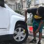 Baltimore mayor gets 'squeegee boys' gig at car wash