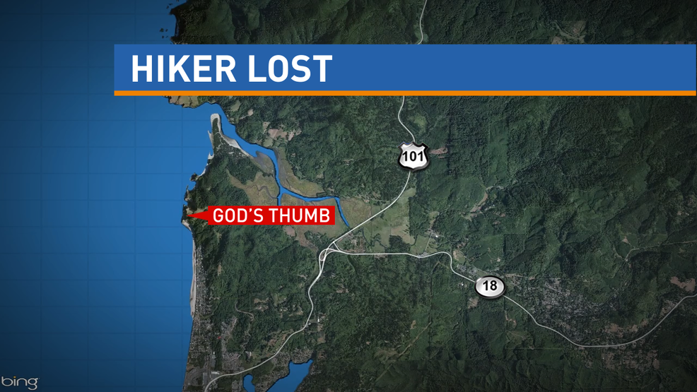 Sheriff Man Missing On Oregon Coast Manages To Walk Out