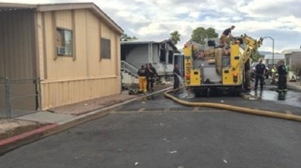Family without a home following fire at mobile home park   KSNV on miami mobile homes, apache mobile homes, superior mobile homes, mobile mobile homes, taylor mobile homes, parks mobile homes, holiday mobile homes, sierra vista mobile homes,