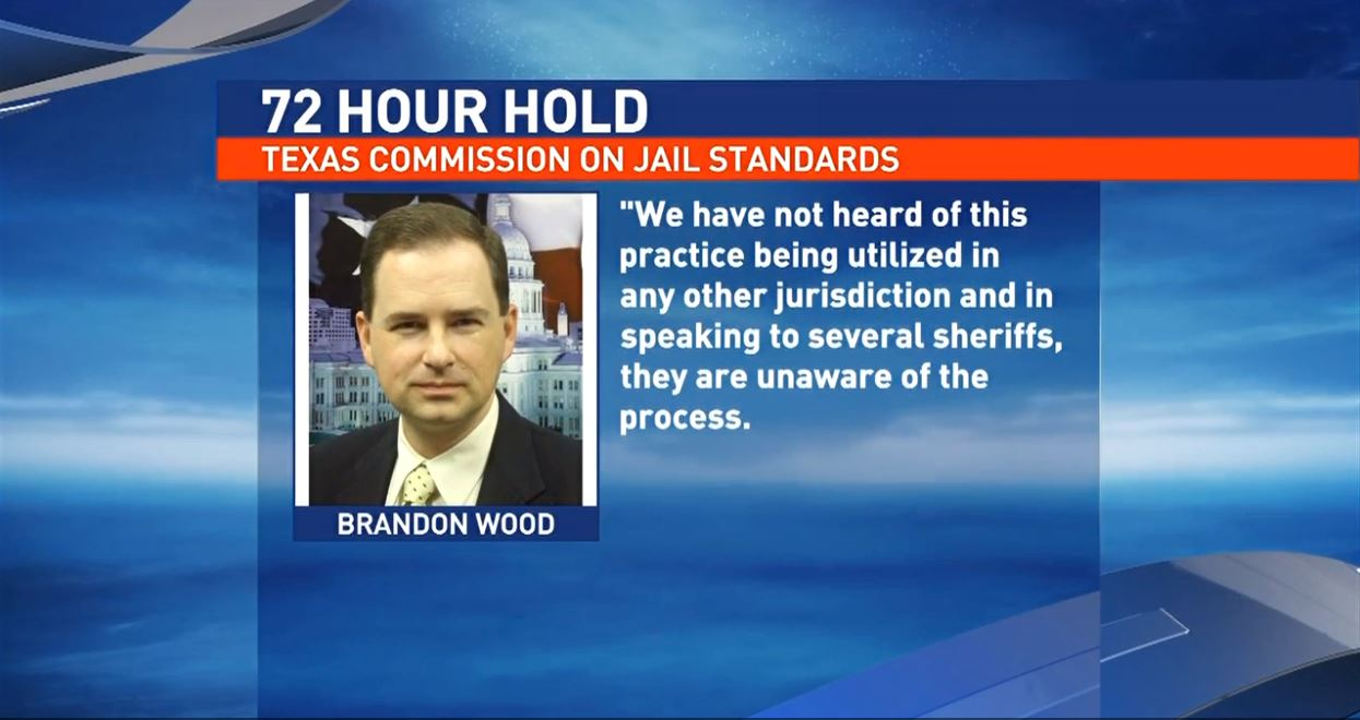 KFDM Investigates: 72-hour jail hold practiced by Jefferson and Orange Co. sheriff offices