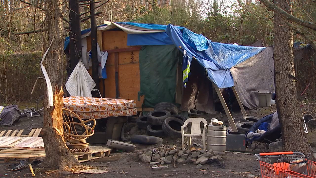 SHARE / WHEEL, a housing support agency contracted by the City of Seattle, estimates 139 people considered to be homeless died last year, and of that number, 90 were considered to be without sheltered or died outside from violence. (Photo: KOMO News)