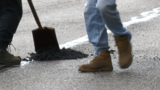 City crews working to fix the pothole problem