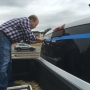 Maple Valley man organizes blue tape project to show support for law enforcement
