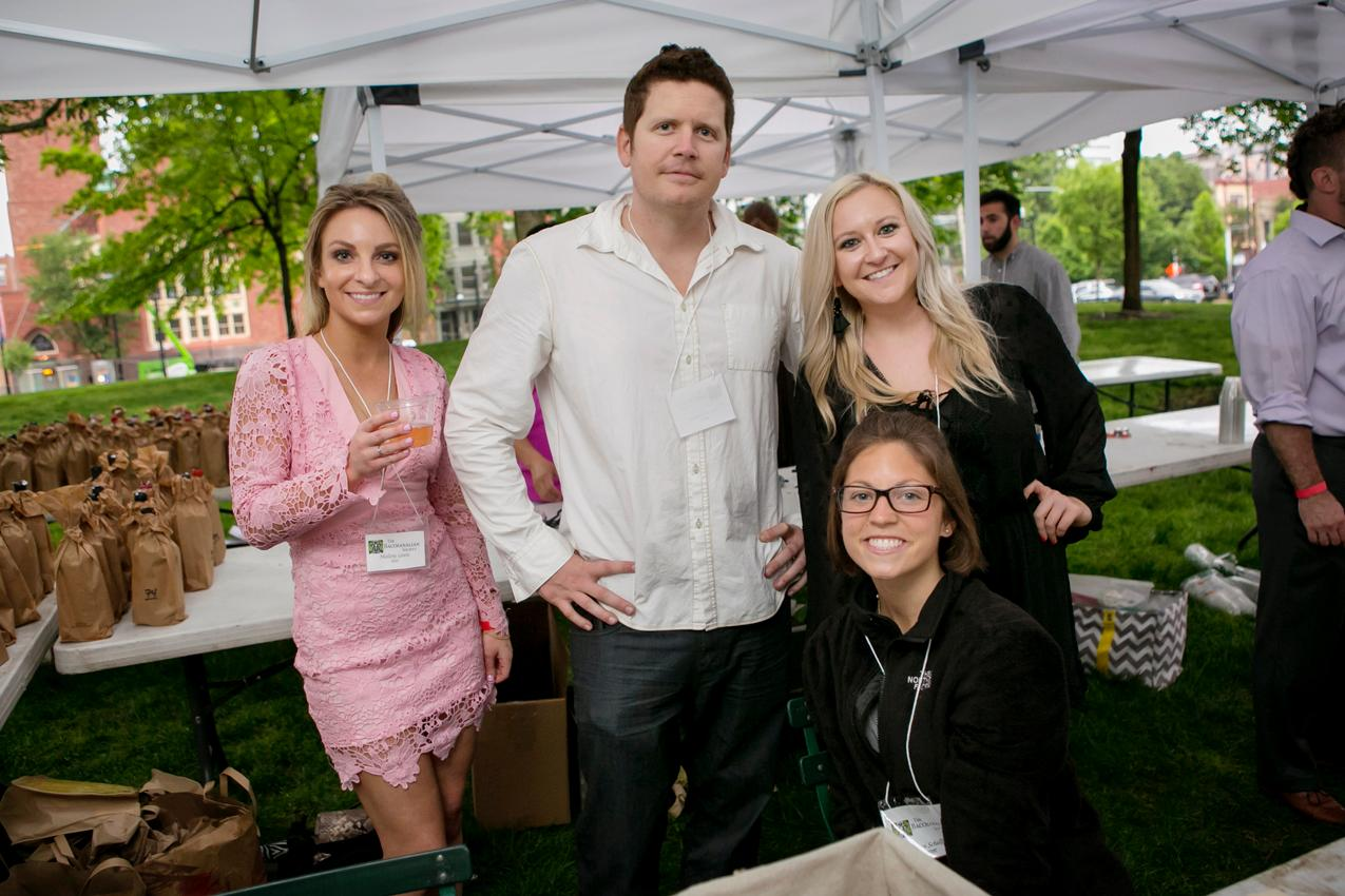 Mallory Lewis, Chad Reynolds, Brooke Emmling, and Kristen Schellhaas / Image: Mike Bresnen Photography // Published: 5.18.18