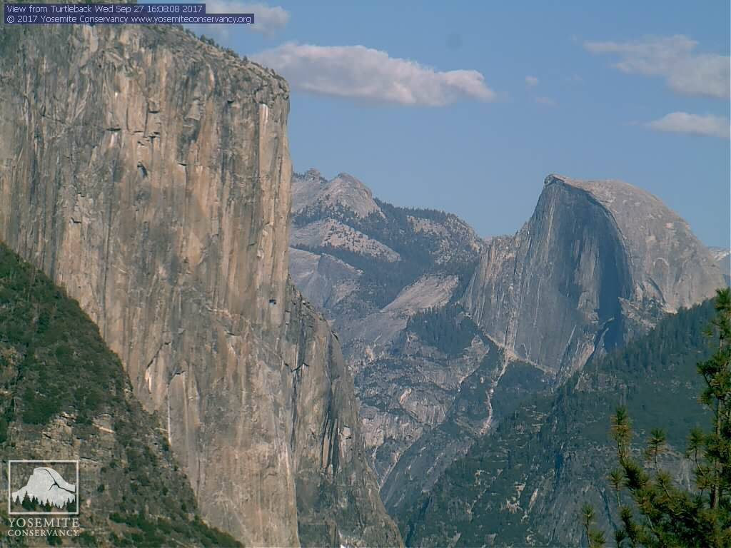 One person is dead and another was hurt after a rock slide on El Capitan, according to park officials. (Yosemite Conservancy)