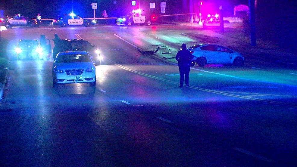 Shots fired sparks car chase, crash in Forest Park