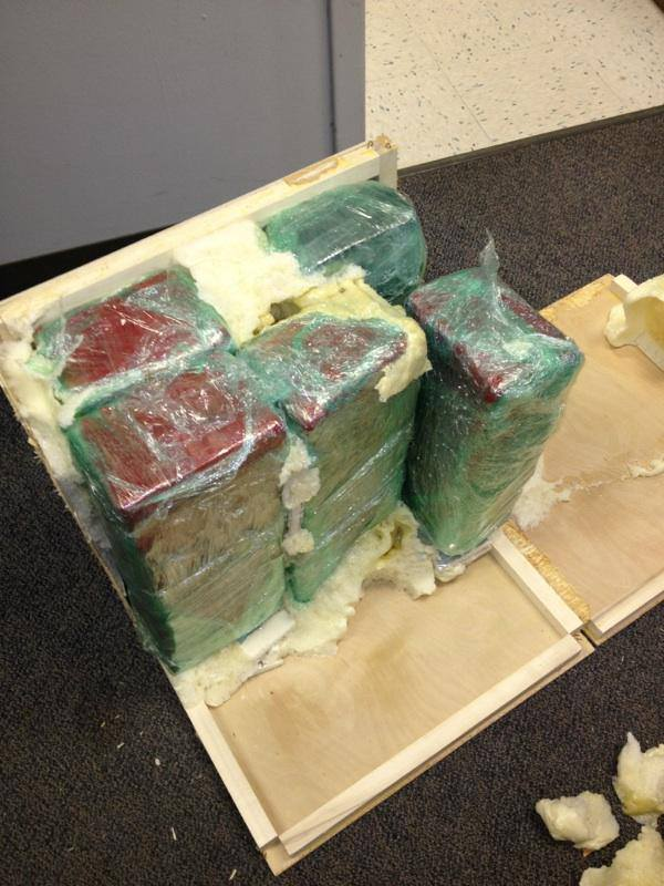 Just under 200lbs of marijuana were recovered as a result of the traffic stop. %u2014 in Oklahoma City.