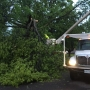 Macomb crews clean up storm debris following severe weather