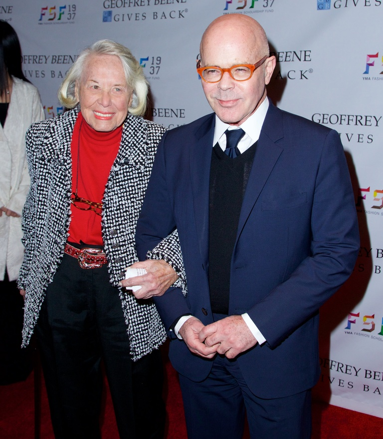 YMA Fashion Scholarship Fund 2015 Gala at The Waldorf Astoria in New York City  Featuring: Liz Smith, Billy Norwich Where: New York City, New York, United States When: 07 Jan 2015 Credit: Alberto Reyes/WENN.com