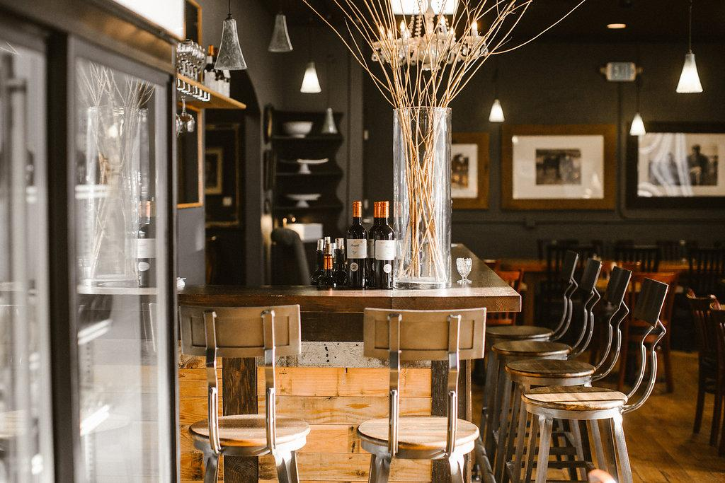 The Peddler Bistro is an expansion of the Bread Peddler Cafe. The large space, capable of hosting large parties, offers dinner options, and a fine selection of wine and beer to compliment your meal. (PHOTO: OLYSOCIAL and Poppi Photography