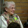 School celebrates volunteer's 90th birthday