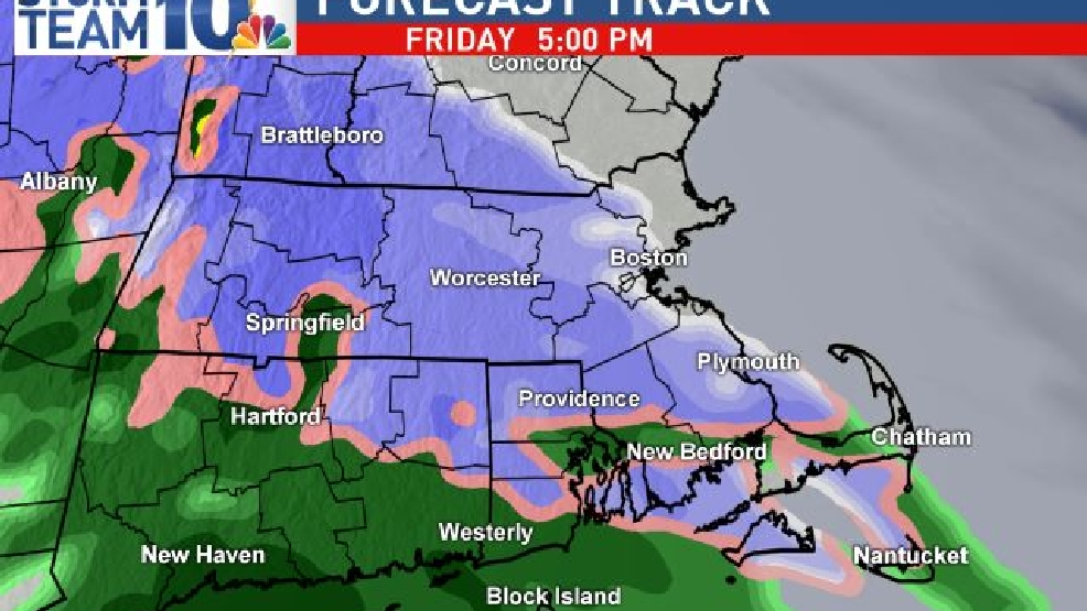 StormTeam10: Wintry mix Friday into Saturday