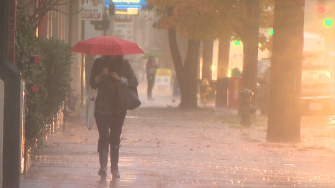 89 -- The number of times it has rained on Nov. 19 in the past 120 years, making it the most likely date of the year to have rain.