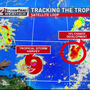 Newest storm named, another disturbance aims for Florida