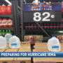 Locals stock up for Hurricane Irma