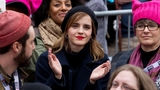 A-list celebs out in force for anti-Trump women's marches