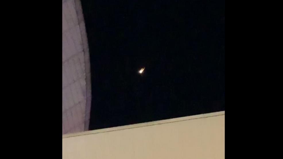 Bright light over Nashville identified